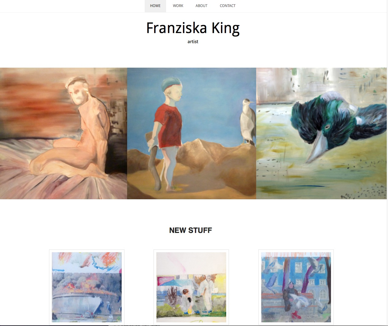 Franziska King Painting Malerei